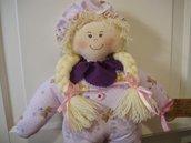 Bambola di stoffa  Giorgia