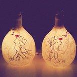 Lampade damigiana MoonRise tango 5 Adornos Design