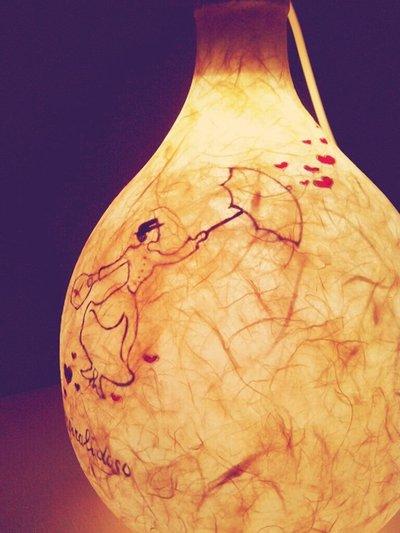 Lampada damigiana Mary Poppins 5 Adornos Design