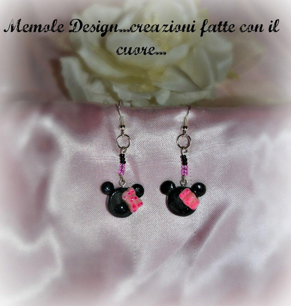 orecchini Minnie