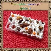 Cover gelato e panna per Iphone4/4s