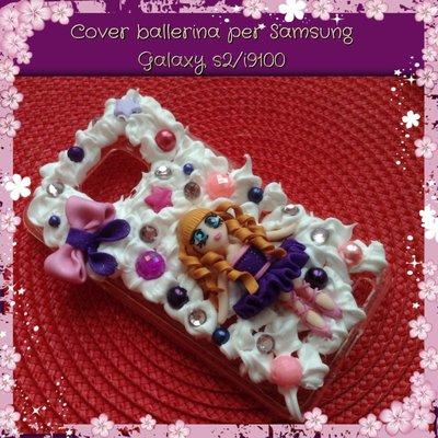 Cover ballerina per Samsung Galaxy s2/i9100
