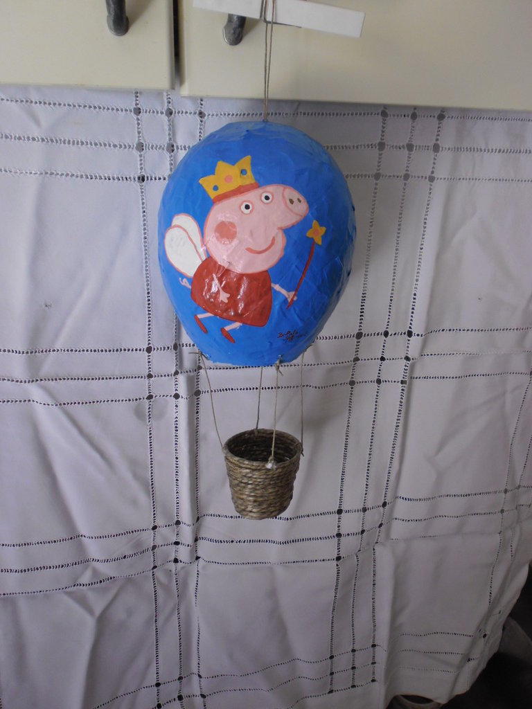 mongolfiera peppa pig