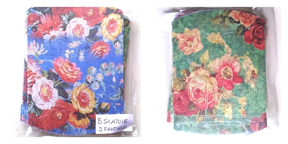 8 scatole in cartoncino 6,5x6×1,5cm - A2
