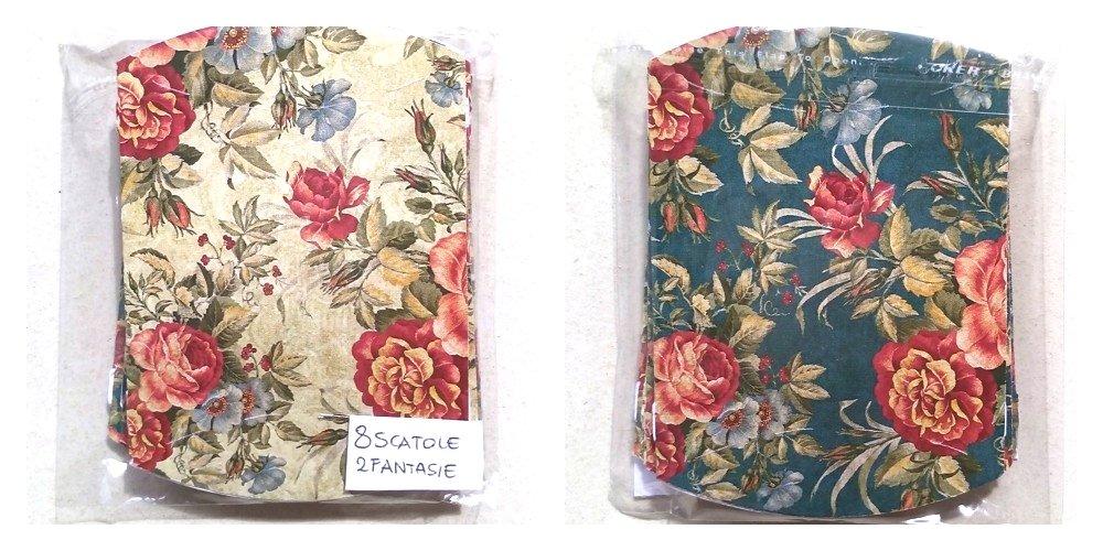 8 scatole in cartoncino 6,5x6×1,5cm - A5