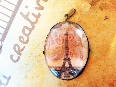 Cammeo Parigi Torre Eiffel 4x3cm