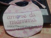 """Bavaglino """"Amore di Mamma"""""""