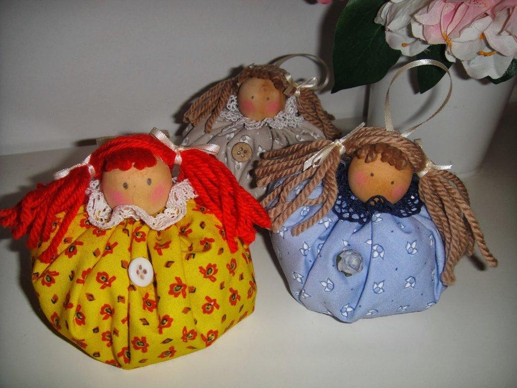 Profumabiancheria - bambole alla lavanda