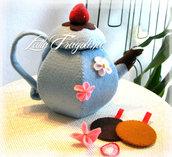 Dolce Teiera tè rimovibile - Teiera in feltro