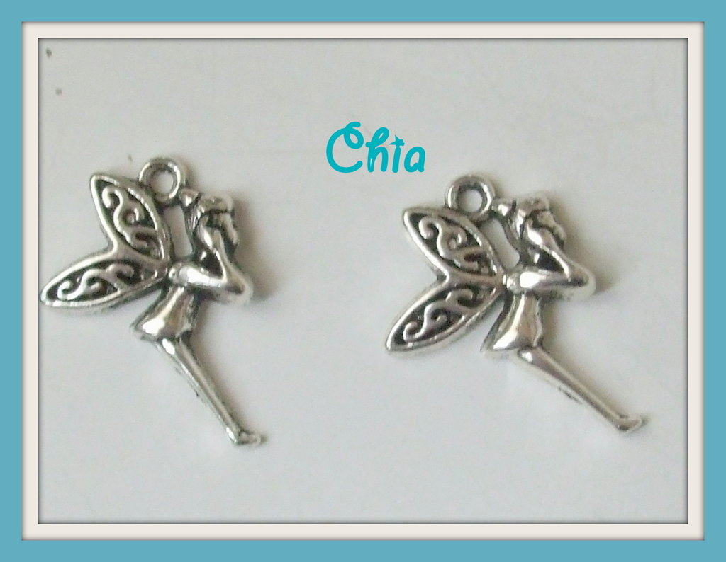 6 charms fatina Trilly 15x20mm