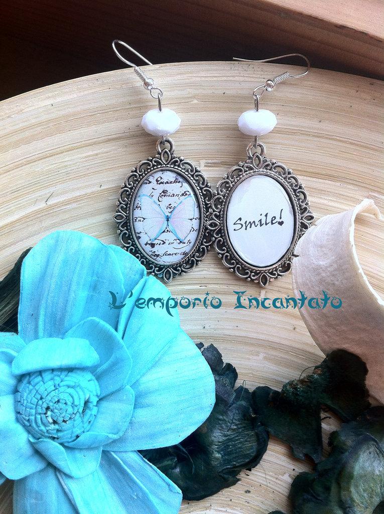 """Orecchini """"Farfalla Smile"""""""