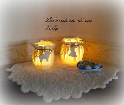 Porta tea-light per Pasqua