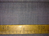 Taglio scampolo stoffa lana grigia leggera vintage anni 70