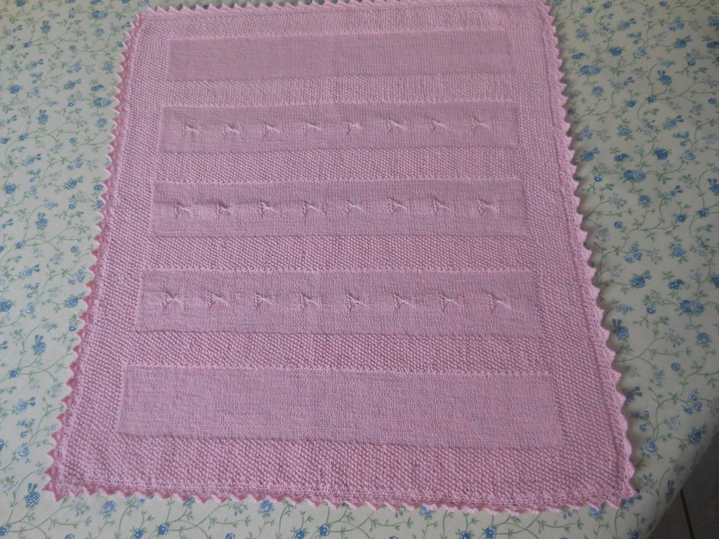 Copertina in lana baby per neonato