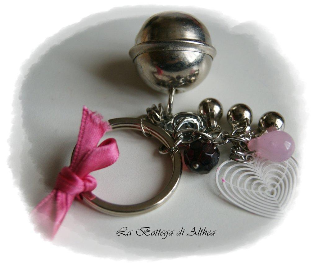 Porta chiavi con sonaglio