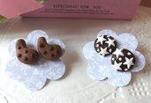 Orecchini biscotti e stelle e gocciole!!