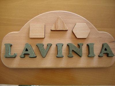ESEMPIO di GIOCO INTERATTIVO per bambini - DA PERSONALIZZARE - legno ad incastro - idea regalo
