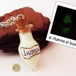 collana lumos harry potter incantesimo