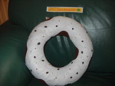"Cuscino ""donut"""