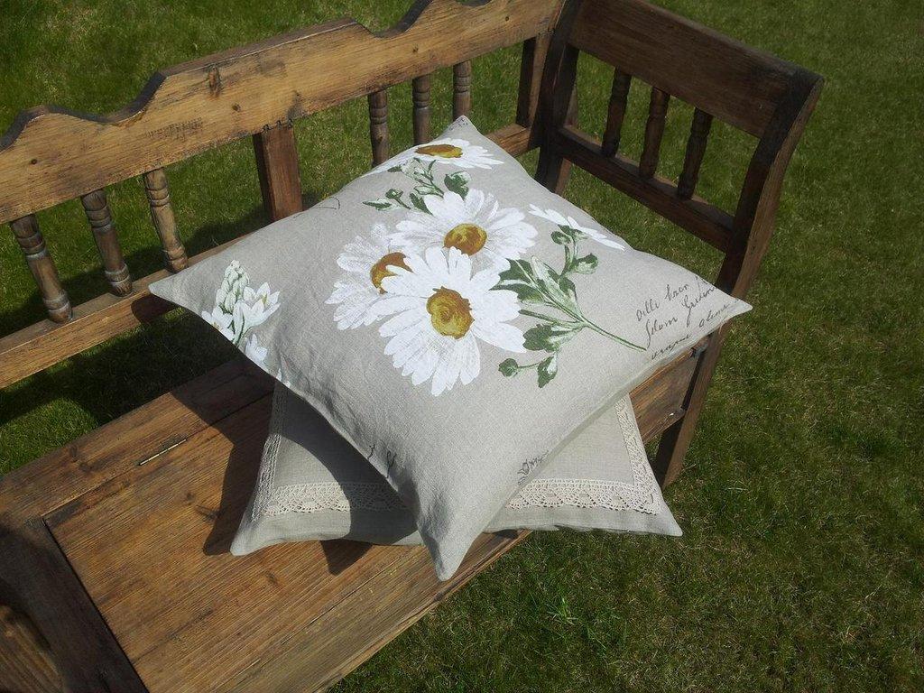 Cuscino in stile provenzale