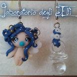 """Orecchini """"Baby Winter Blue Fairy"""""""