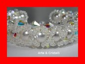 bracciale perle e sw