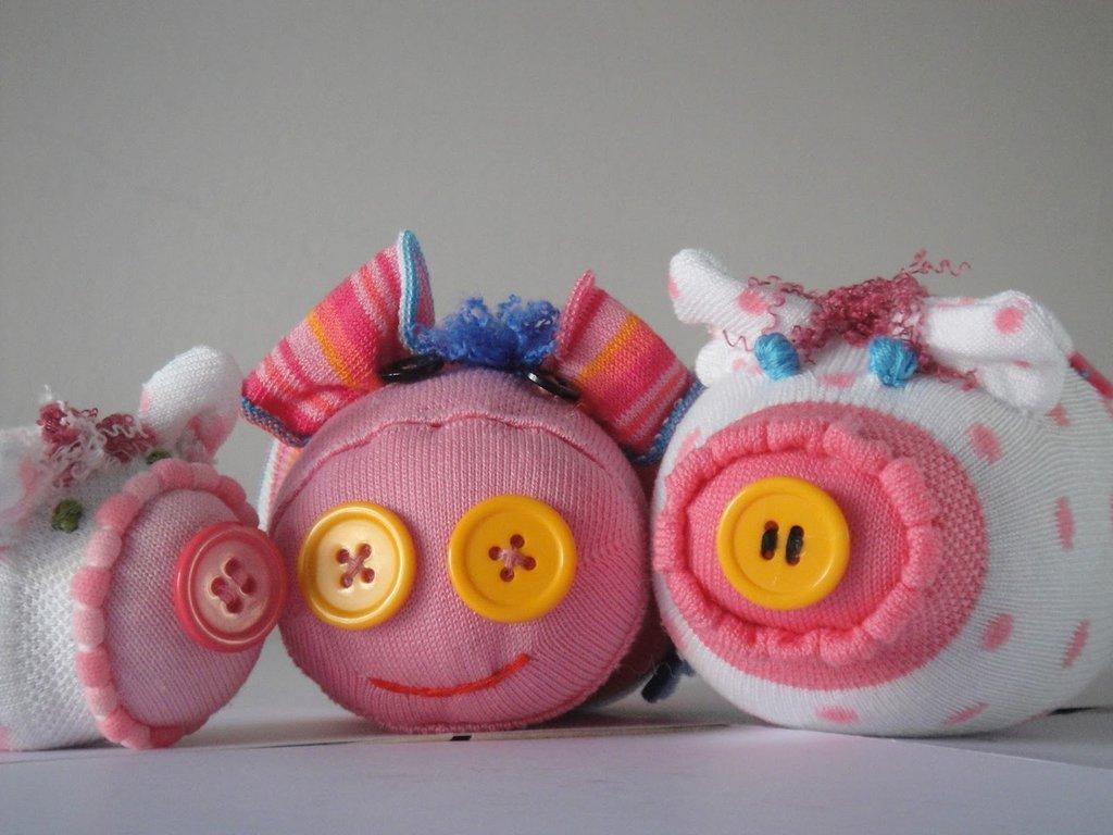 Sock toy - maialino