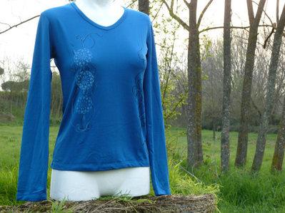 Maglietta azzurra
