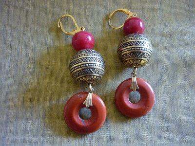 Orecchini pendenti stile indiano