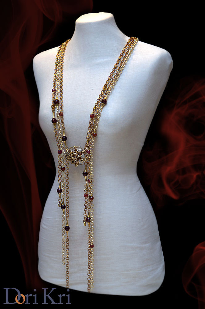 Antica elegante collana stile Edwardiana!!