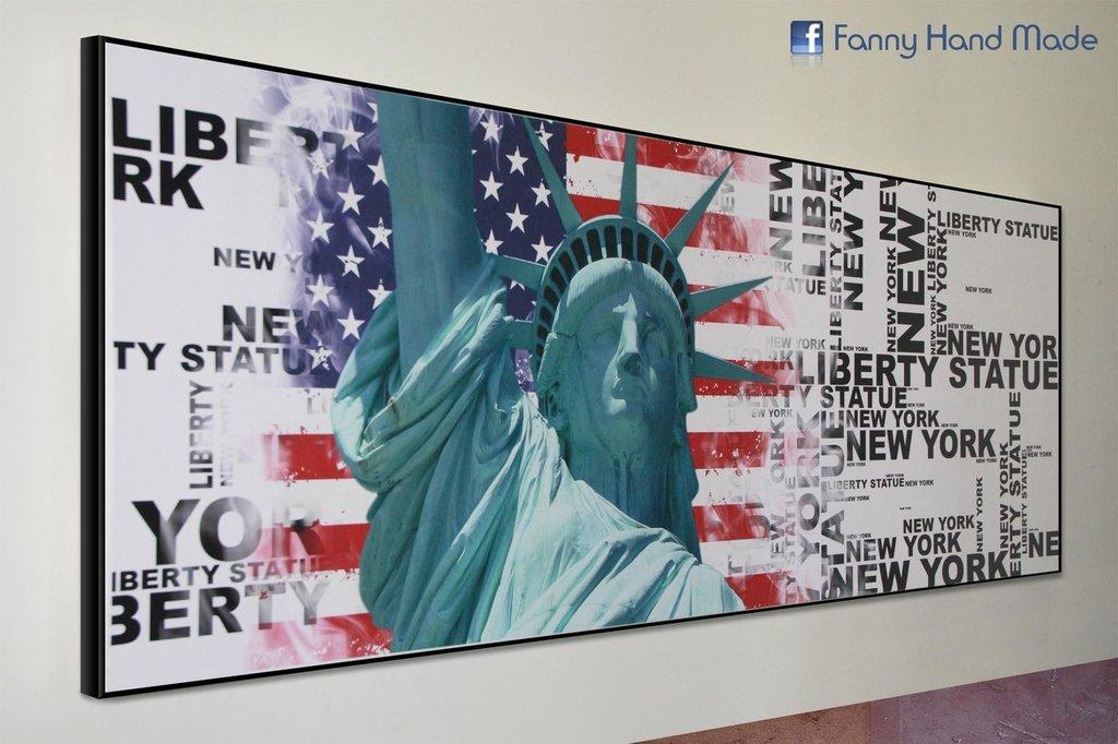 Statua della libertà - stampa su tela
