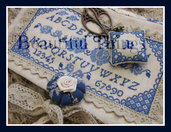 Blue rose sampler
