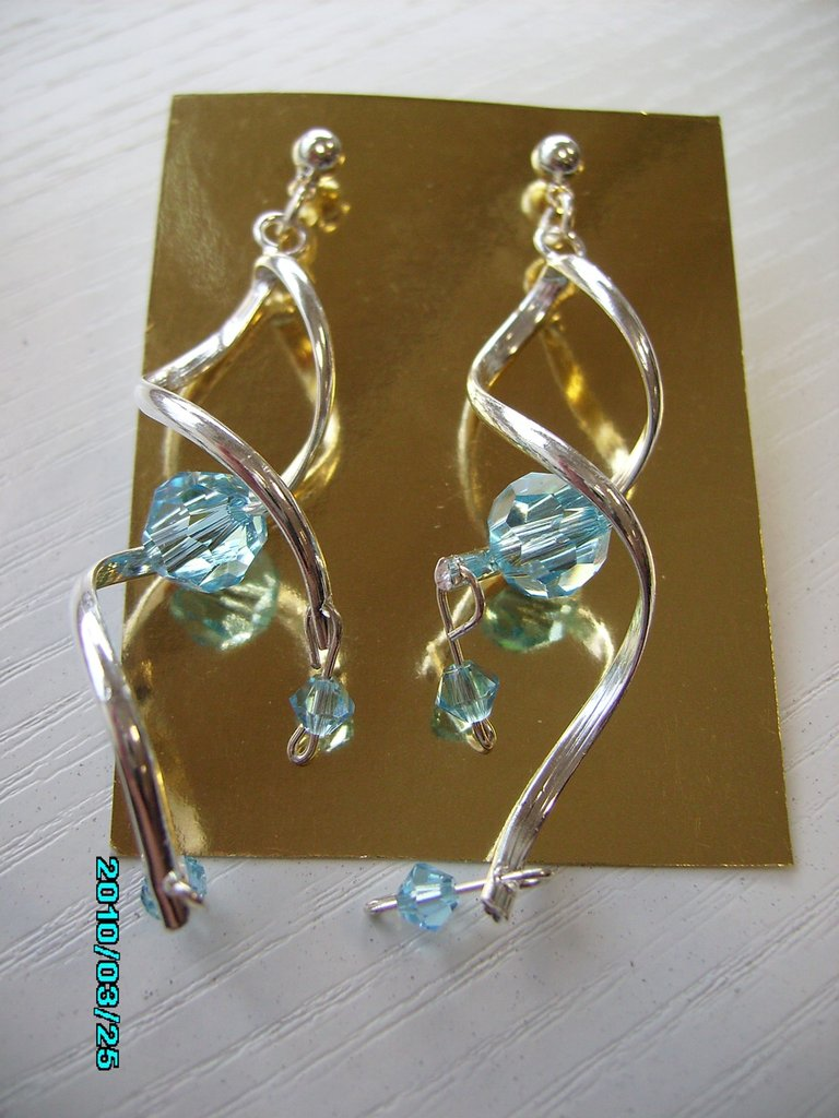 orecchini vortice