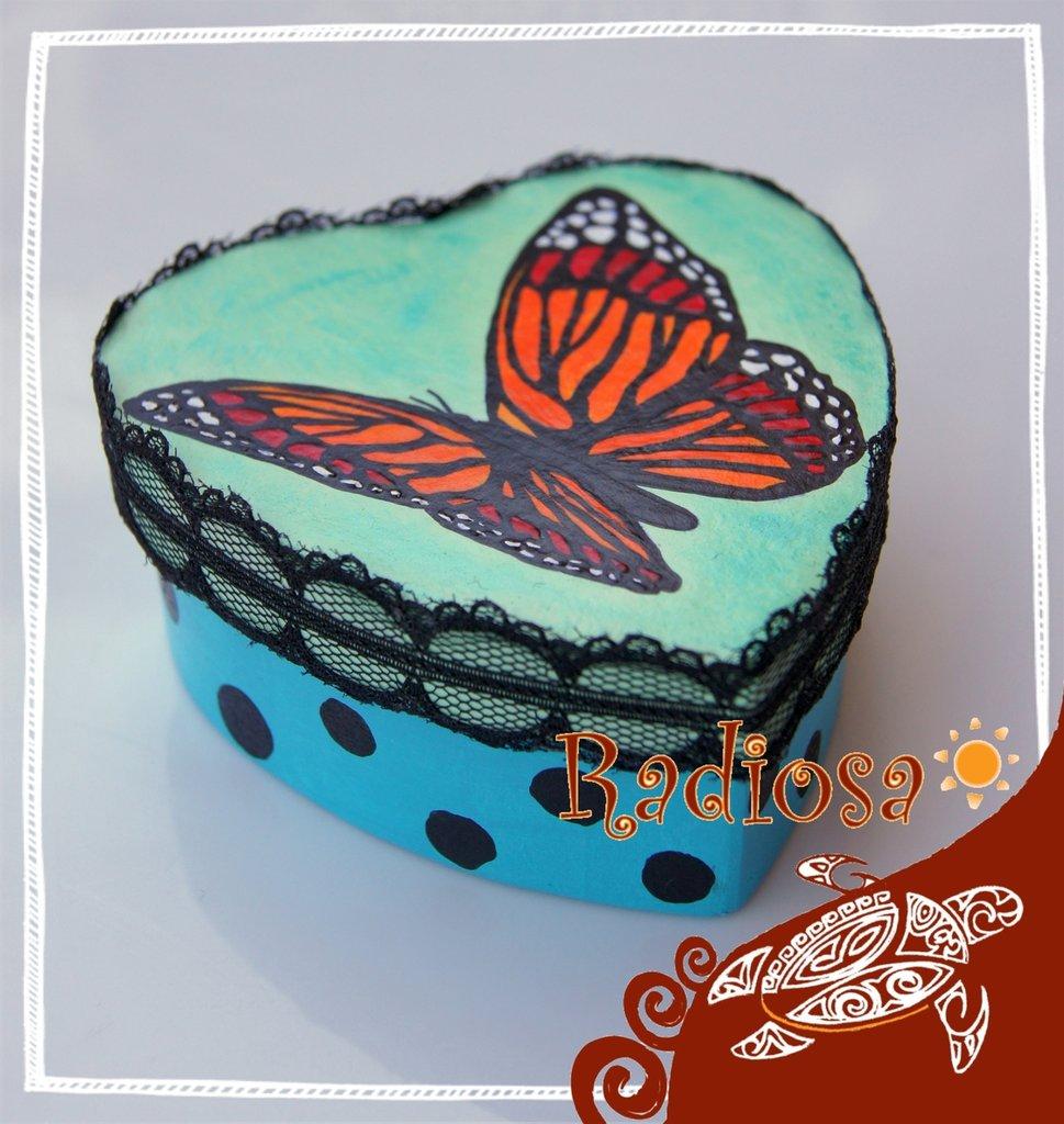 Cofanetto farfalla