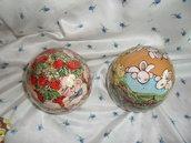 uova in ceramica grande