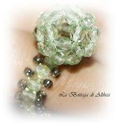 Simpatico anello con pallina di perline