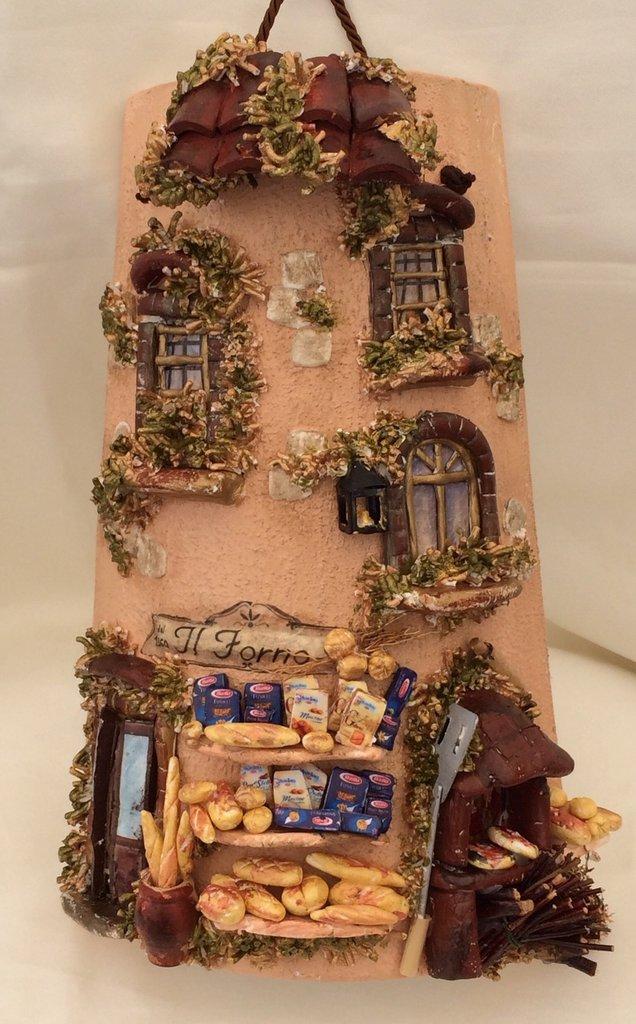 Tegola coppo casetta del pane per la casa e per te for Tegole del tetto della casetta