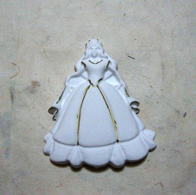 """stampo in silicone  """"principessa"""" cm.8"""