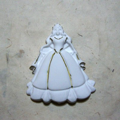 "Gessetto in polvere ceramica ""principessa"""