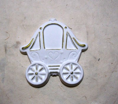 """Gessetto in polvere ceramica """"carrozza"""""""