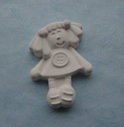 """Gessetto in polvere ceramica """"bambolina"""""""