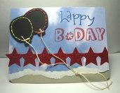 Tarjeta de cumpleaños - Globos