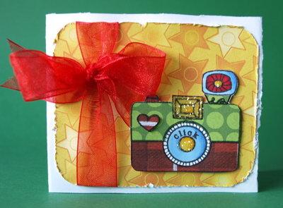 Tarjeta felicitación - Click Click