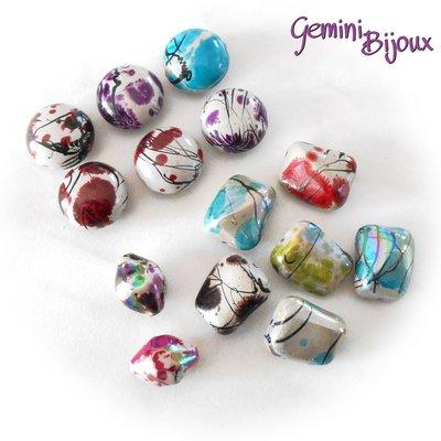 Lotto perle acrilico 4