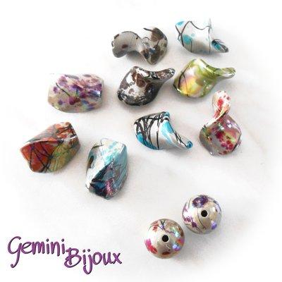 Lotto perle acrilico 6