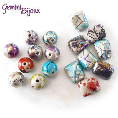 Lotto perle acrilico 7