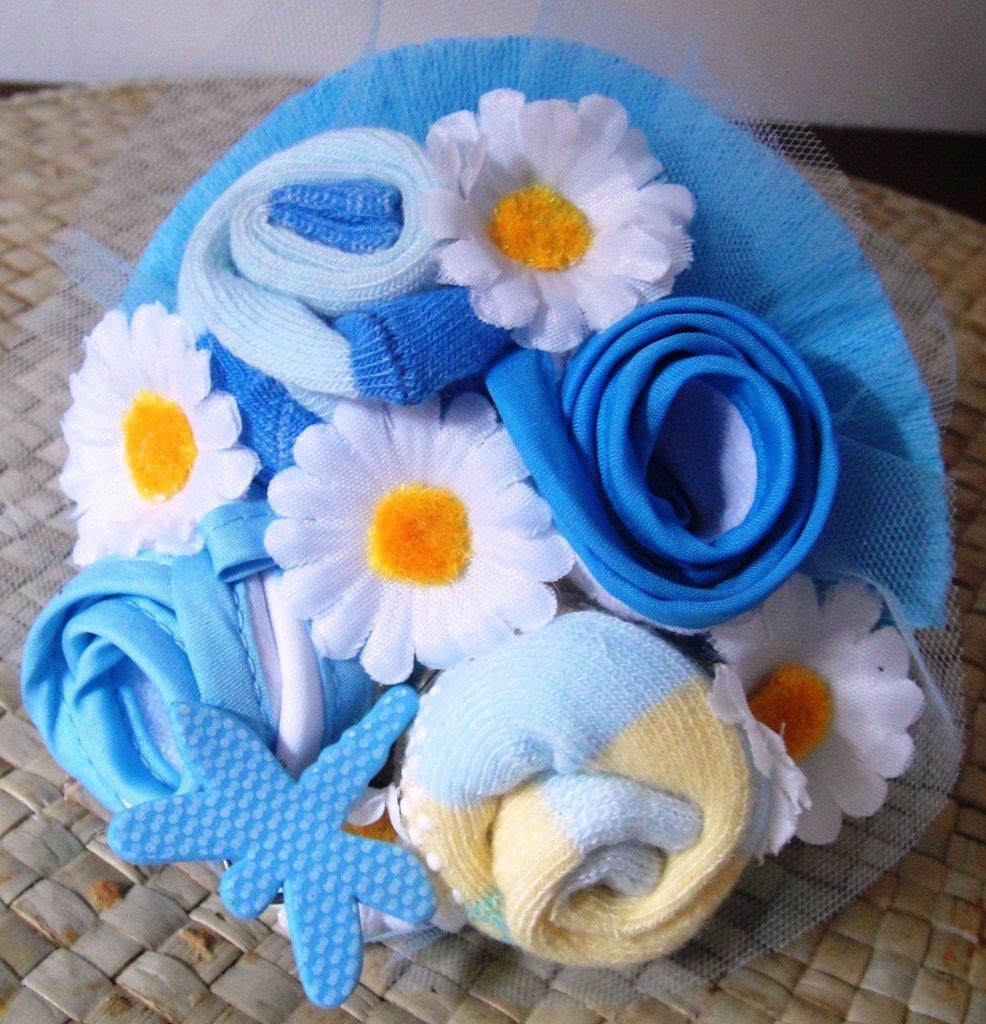 Baby bouquet - mazzolino di benvenuto