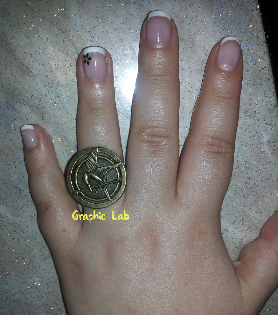 Anello in bronzo Hunger Games