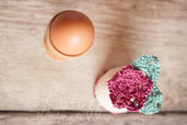 Copri Uovo per una colazione o branch con stile - Batuffolohandmade -