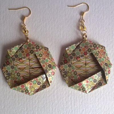 Orecchini Origami 2